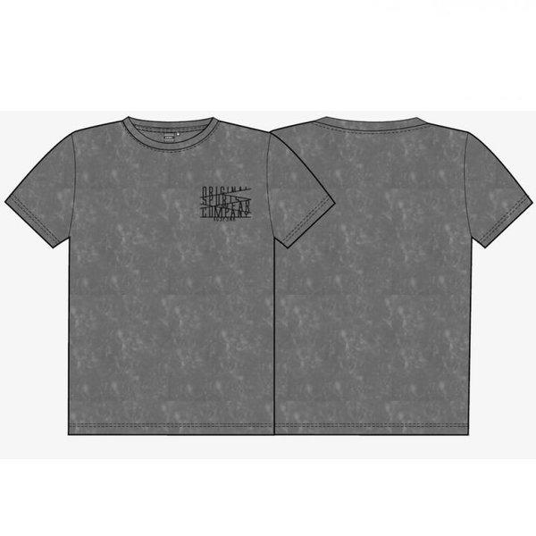 ICEPEAK - PRYS Shirt Herren T-Shirt Baumwolle - schwarz dunkelgrau