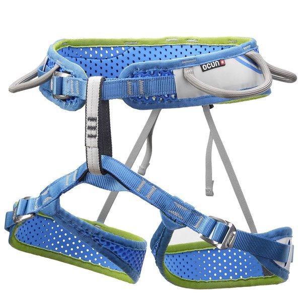 OCUN - Leichter, universeller 3-Schnallen - Klettergurt für alle Einsatzzwecke - WeBee Move - blau