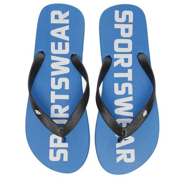 4F - Flip Flops - Herren Zehentrenner - blau
