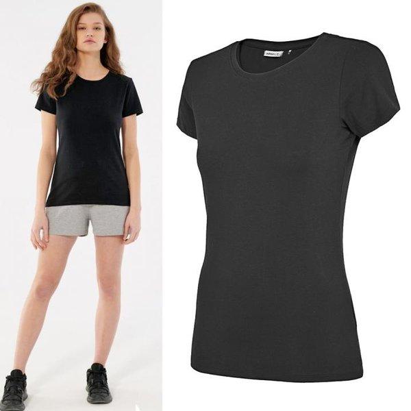 Outhorn - Damen Basic T-Shirt 2021 - schwarz