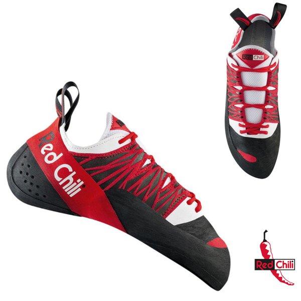 Red Chili - STRATOS Unisex - Kletterschuhe, schwarz rot