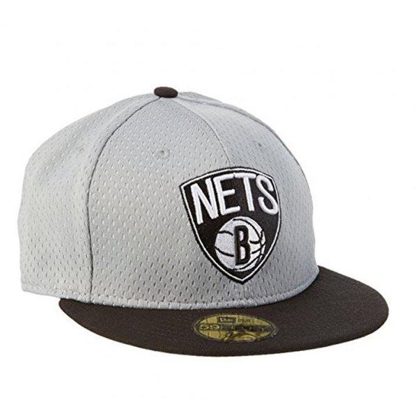 New Era Herren Cap NBA Sports Mesh Bronet Otc - grau schwarz 7 7/8