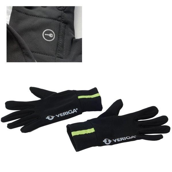 Veriga - Active Walk - Sport- Lauf-Handschuhe - mit Schlüsselfach - unisize