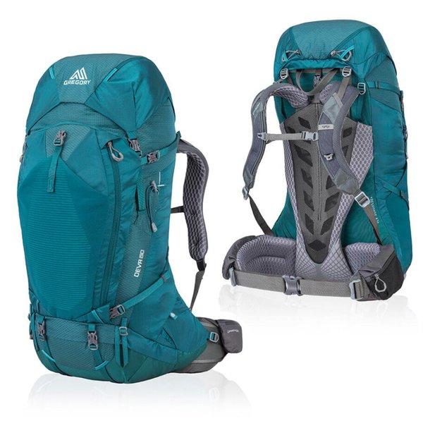 Gregory - Rucksack Deva 60 SM - Trekkingtouren - Fernreisen - Damenschnittform - Antigua green