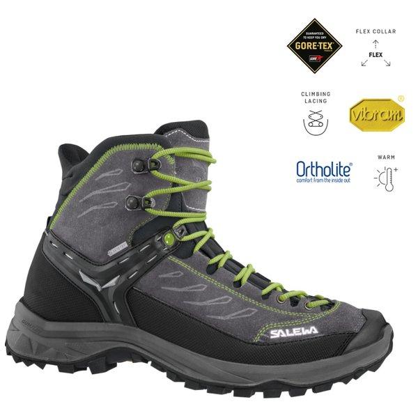 Salewa - Vibram Hike Trainer Mid GORE-TEX® Wanderschuhe, grau
