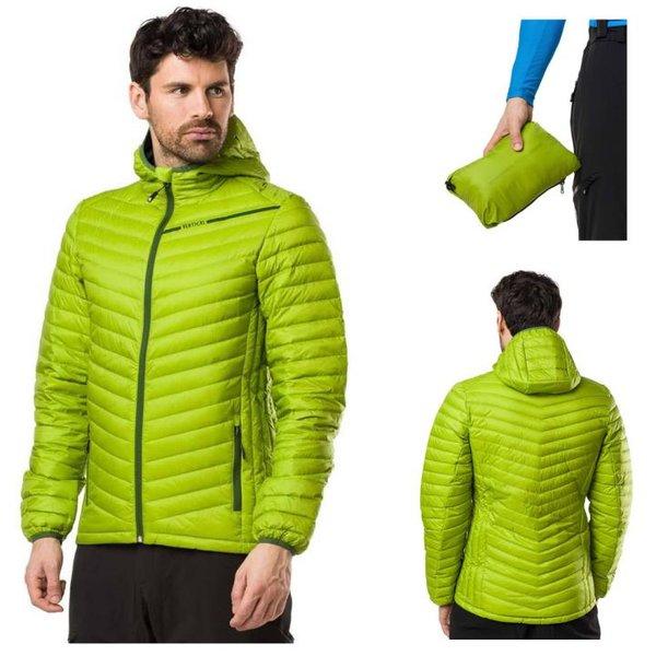 Vertical - Daunenjacke Isolations Jacke, grün