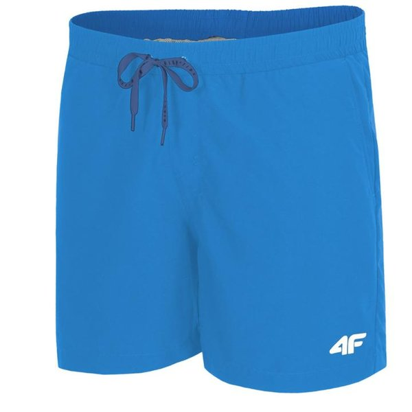 4F - Badehose Herren Badeshorts 2019 - blau