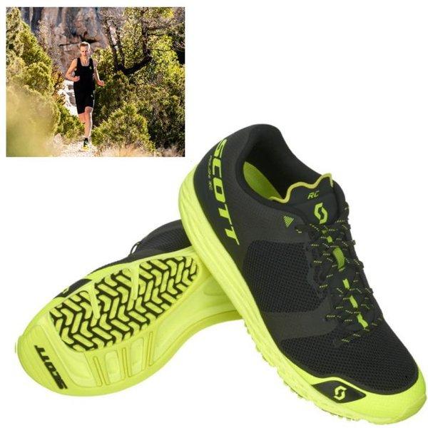 Scott - Palani RC Herren Trailrunning Jogging Schuhe, gelb schwarz