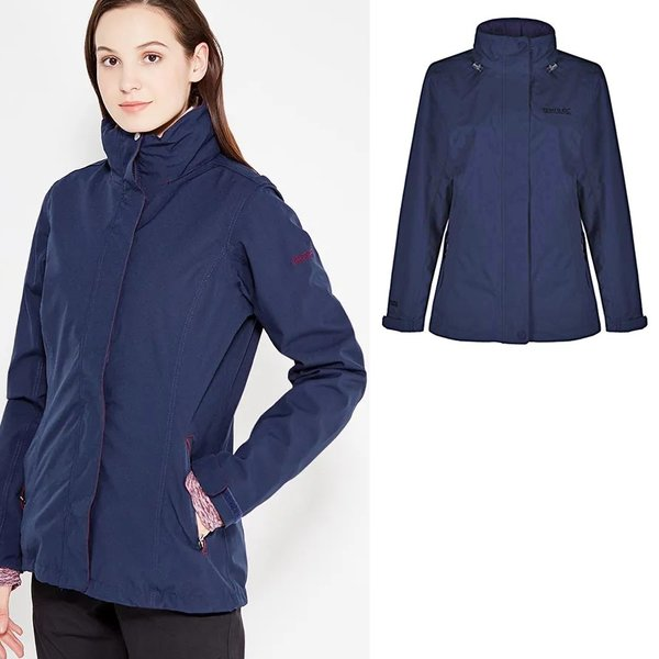 Regatta - Calyn - Damen Regenjacke - navy