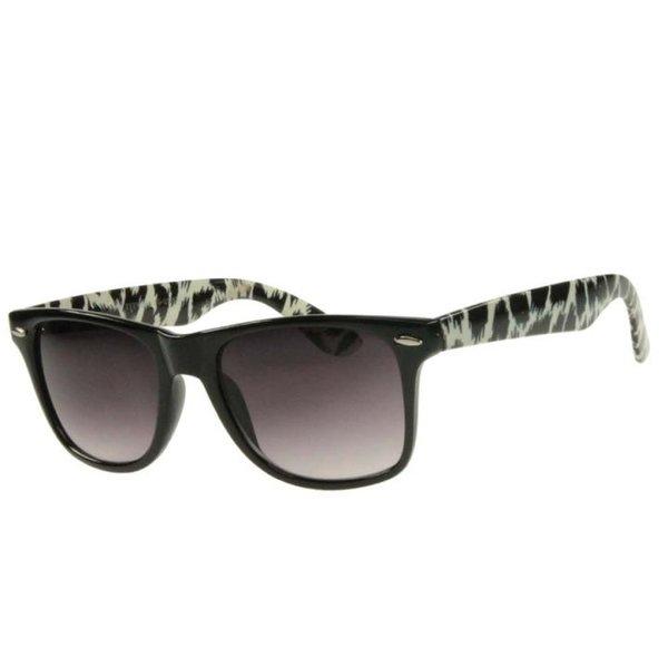 QWIN - Sonnenbrille DESIGN - Gläser UV 400 - schwarz weiß