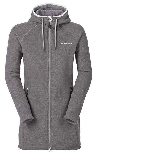 half off 7459c 4c50f VAUDE Damen Coat II Jacke Fleecemantel Mantel - grau XXL