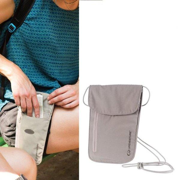 Lifeventure - Body Wallet Chest RFiD - Sicherheits-Reise-Geldbeutel - beige