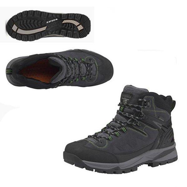 Icepeak - WYNNE MS Herren Outdoor Boots wasserdichte Winterschuhe - schwarz grau