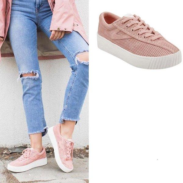 Tretorn - Nylite 3 bold - Damen Sneaker - rosa