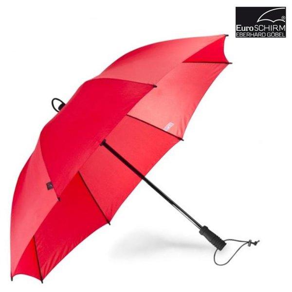 EuroSCHIRM - Göbel - Regenschirm Trekkingschirm - Swing, rot