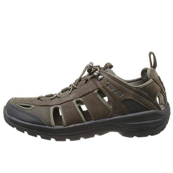 Teva Herren M Kimtah Sandal Leather Trekking- & Wanderschuhe - braun UK 6 - EU 39,5