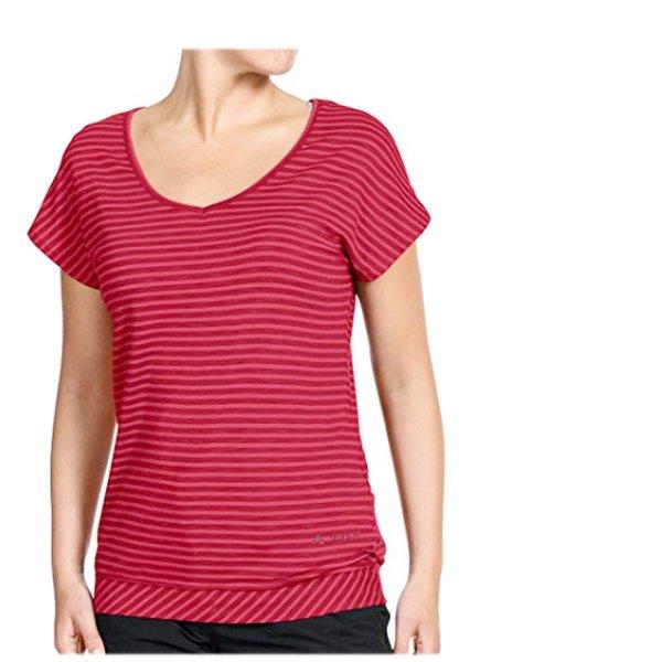 Vaude Damen T-Shirt Outdoor Kletter Wandershirt YOGA, rot, 38 S