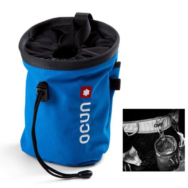 OCUN - funktioneller Chalkbag inklusive passendem Gürtel zur Befestigung - Push + Belt - blau