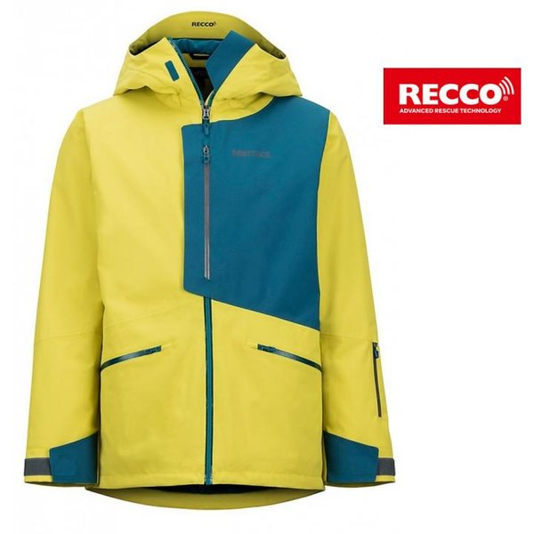 Marmot - Androo - Herren Skijacke, Skitouren, Recoosystem - gelb