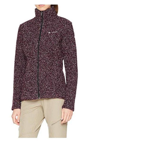 Vaude Damen Women's Melbur Jacket Jacke - Fleecejacke - lila - 34 XS
