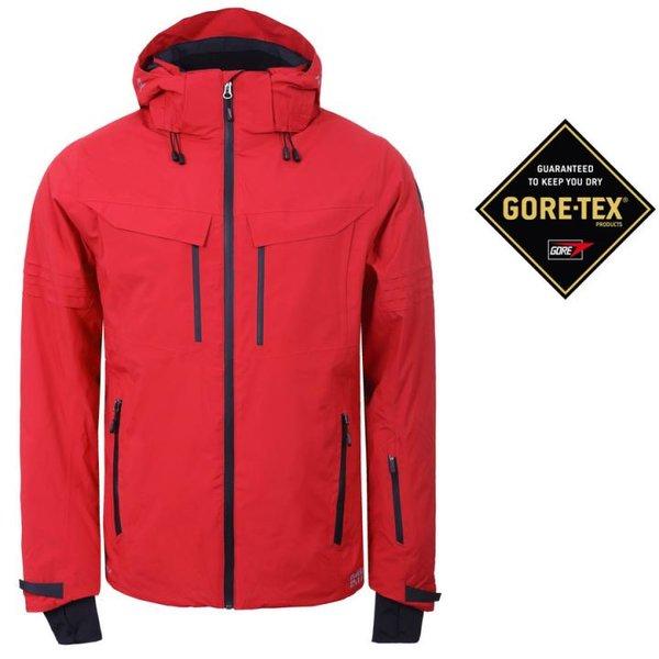 Rukka - Goretex Winterjacke SALO Membran Regenjacke, rot