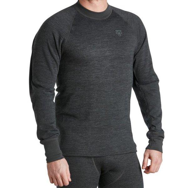 TERMO - Wool Light 2.0 - Jumper, long sleeve - Merino Herren Longshirt Pullover - grau