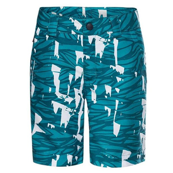 Vaude Kinder Shorts Pants kurze Sommerhose - grün - 158/164