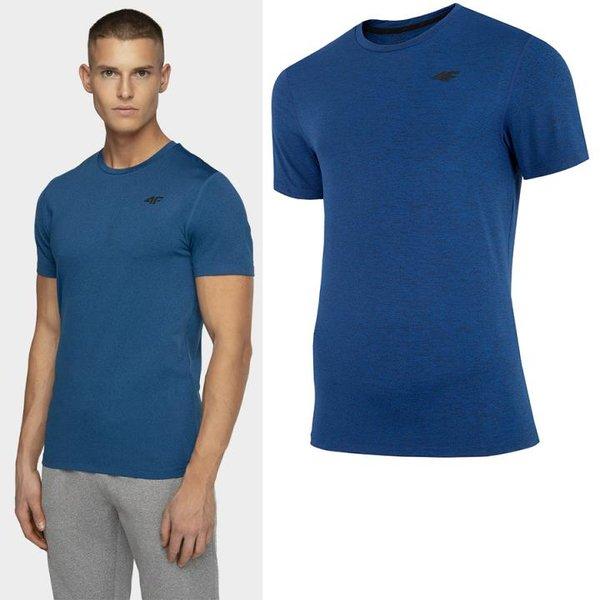 4F - Quickdry Herren Sport T-Shirt - blau
