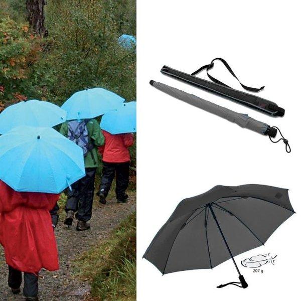 EuroSCHIRM - Göbel - Regenschirm Trekkingschirm - Swing liteflex, schwarz