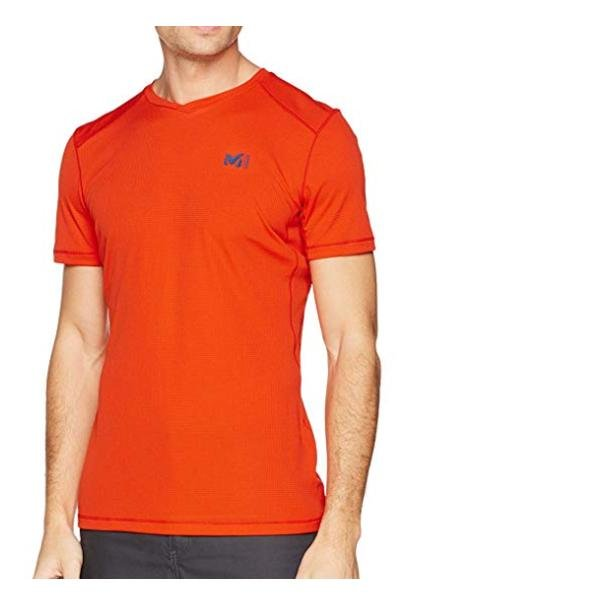 MILLET MIV7762 Herren T-Shirt Sportshirt - orange XS/S
