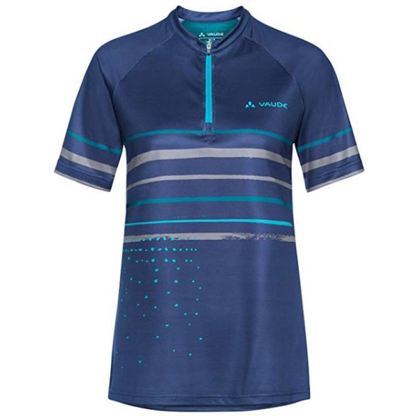 Vaude Damen Ligure Shirt T-Shirt Radtrikot - sailor blue - 38 S/M