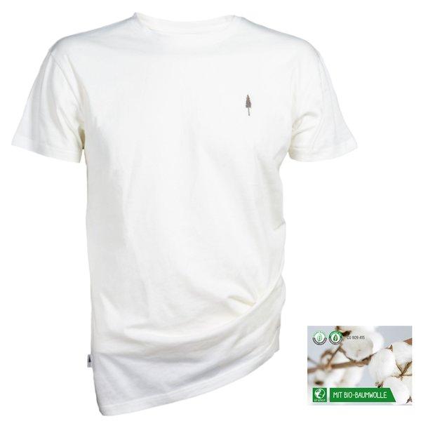 NIKIN - TreeShirt Unisex T-Shirt Bio-Baumwolle, weiß