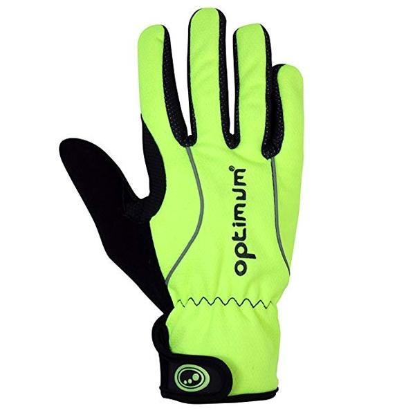 OPTIMUM Handschuhe WIND-TEX Herren Sporthandschuhe - neon gelb