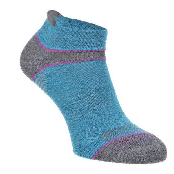 Silverpoint - On The Move no show - Merino Socken - blau