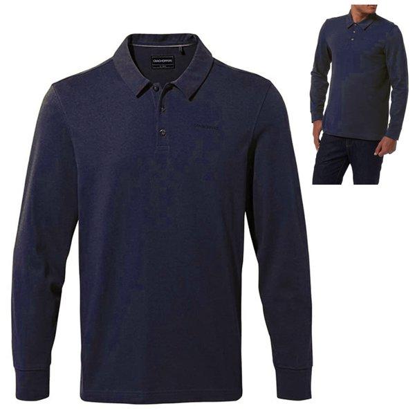 Craghoppers - Bryson Collr LS langarm Hemd, navy