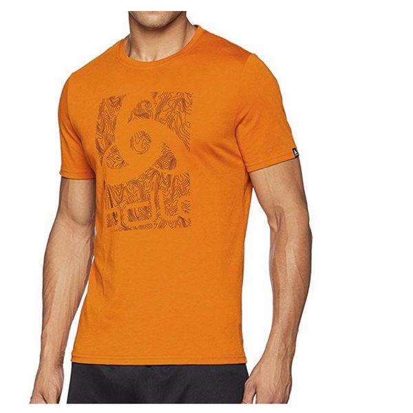 Odlo Herren Bl Crew Neck Nikko Logo Light Shirt - dunkelorange - L