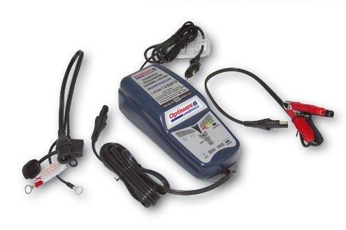 TecMate OptiMATE 6 Ampmatic TM180, 9-stufiges 12V 5A Batterierettungs, lade-, test-, wartungsgerät