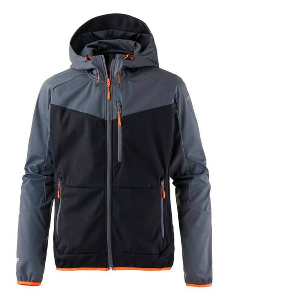 Icepeak - SILVAIN wasserdichte winddichte Outdoorjacke 10.000 - grau schwarz
