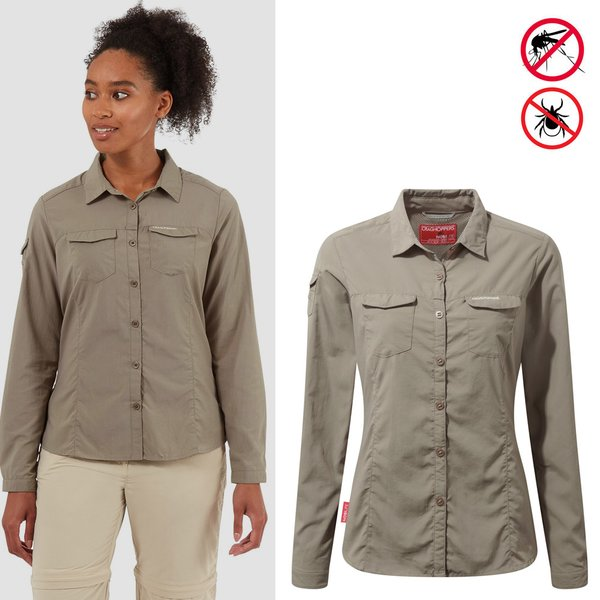 Craghoppers - NosiLife Adventure - Damen Bluse - beige