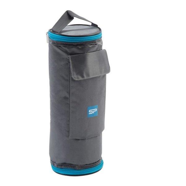 Spokey - Icetube - große Kühltasche für Flaschen - grau blau - 30x11cm (BLACKFRIDAY!)