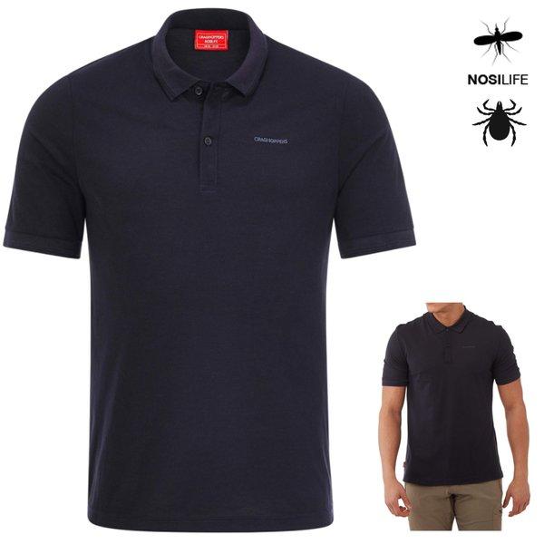 Craghoppers - NosiLife Polohemd Mani mit kurzem Ärmel Polo Shirt, navy