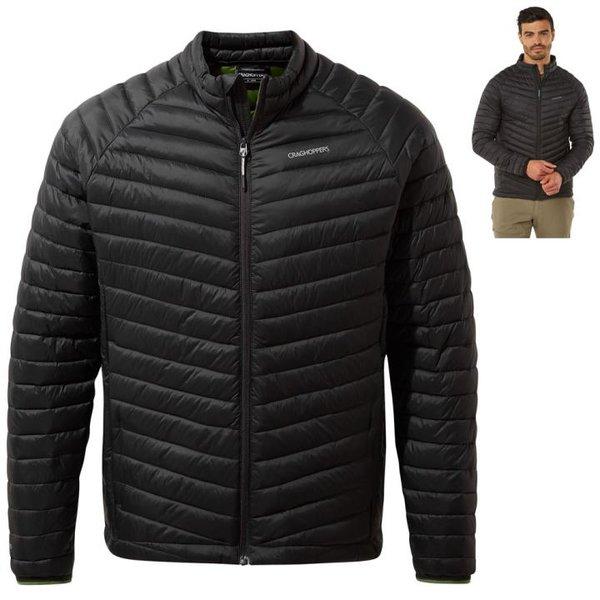 Craghoppers - Expolite Jacke - Winterjacke Steppjacke, RFID Tasche, schwarz