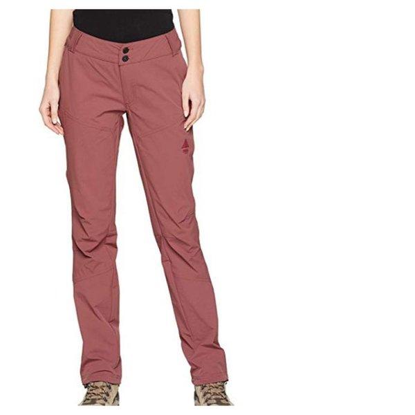 BERG OUTDOOR Damen Outdoor Pants Wanderhose - rost rot - L 40