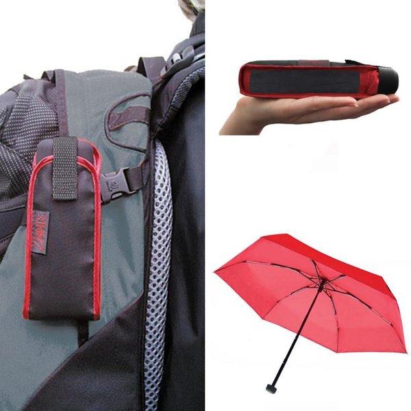 EuroSCHIRM - Göbel - Minischirm Regenschirm - DAINTY, rot