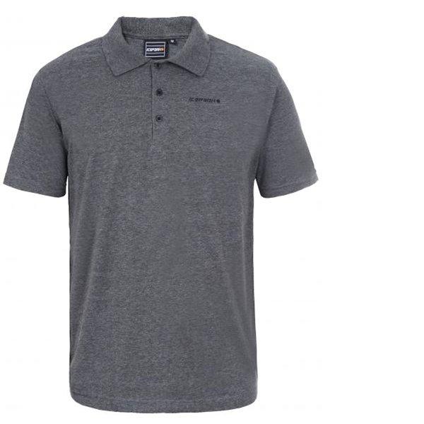 new product b0bb3 e0e6e ICEPEAK - POLT - Herren Poloshirt Quickdry 2019 - grau