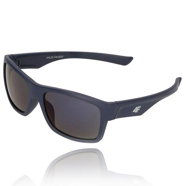 4F - Sonnenbrille DESIGN - REVO Gläser UV 400 - dark navy