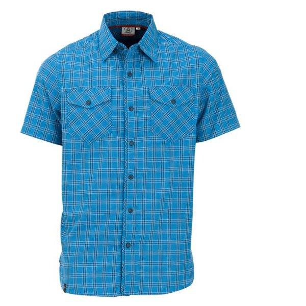 Maul - Tranby - Herren Outdoorhemd - blau kariert