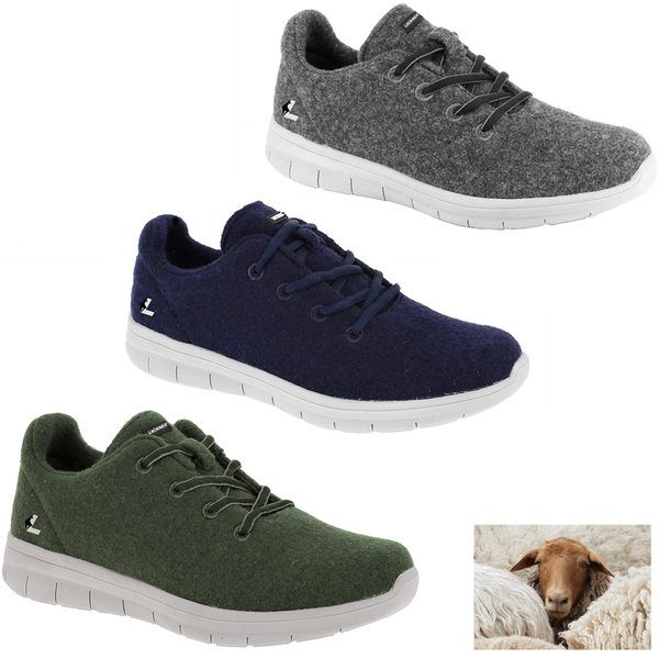 Lackner - Schafswolle Schuhe Wonder, Freizeit- Outdoorschuhe
