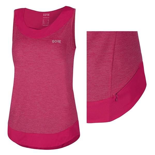 GORE WEAR Damen C3 Trikot Ärmellos Sport Shirt Tank Top - pink - 40 L