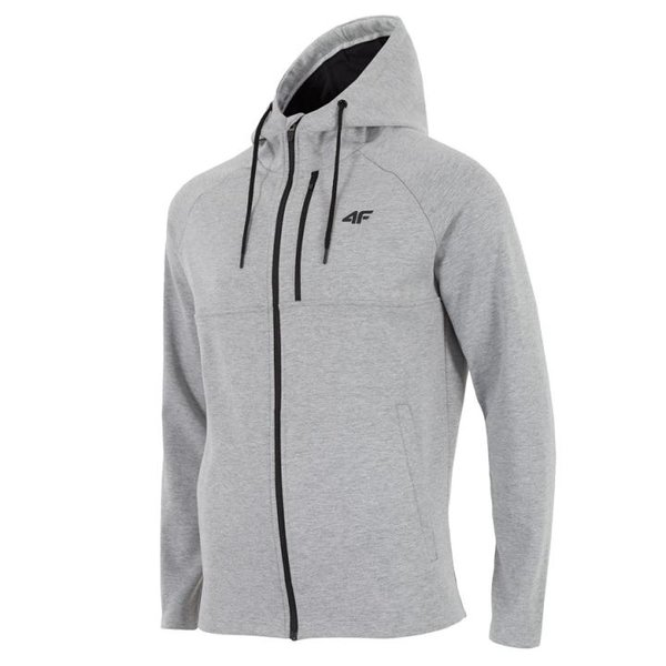 4F - Sweat-Fleece-Jacke - Herren Sportjacke